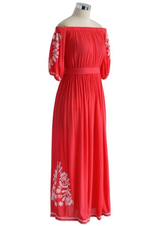 Chicwish Red Maxi