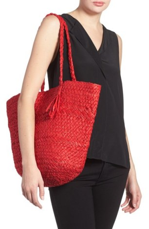 Phase 3 Woven Straw Tote
