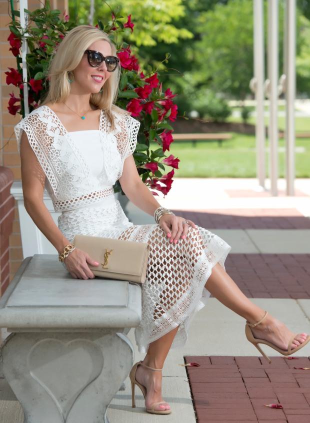 Crochet Cropped Top & Skirt