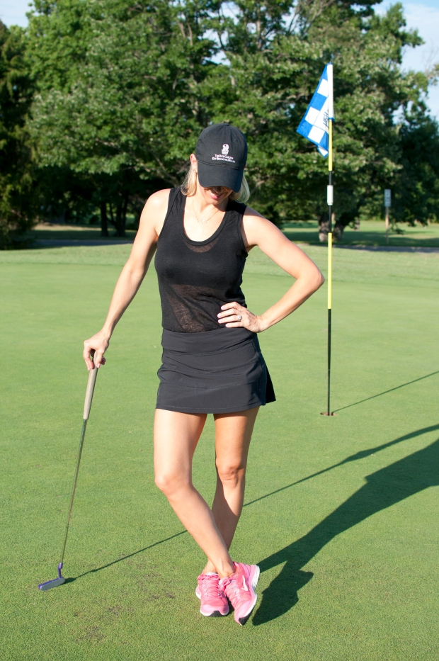 All Black Golf Outfit