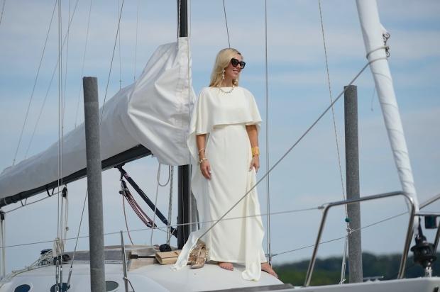 e.shakti White Gown
