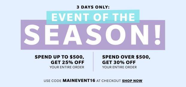Shopbop Sale!!