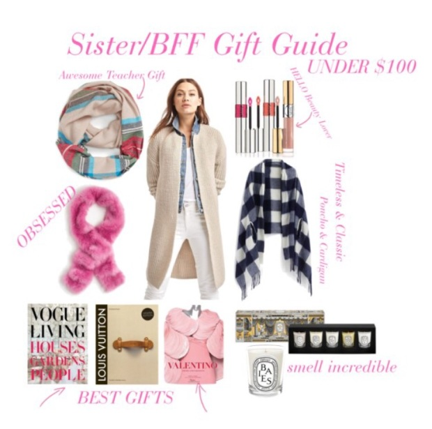 BFF/Sister Gift Guide 2016