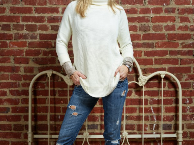 Athleta Sweater and Turtleneck