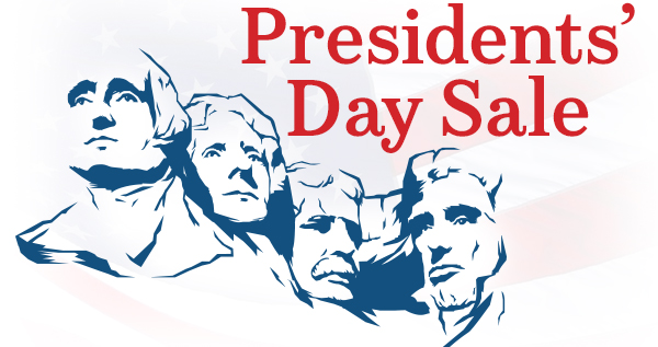 President Day Weekend Sale 2017