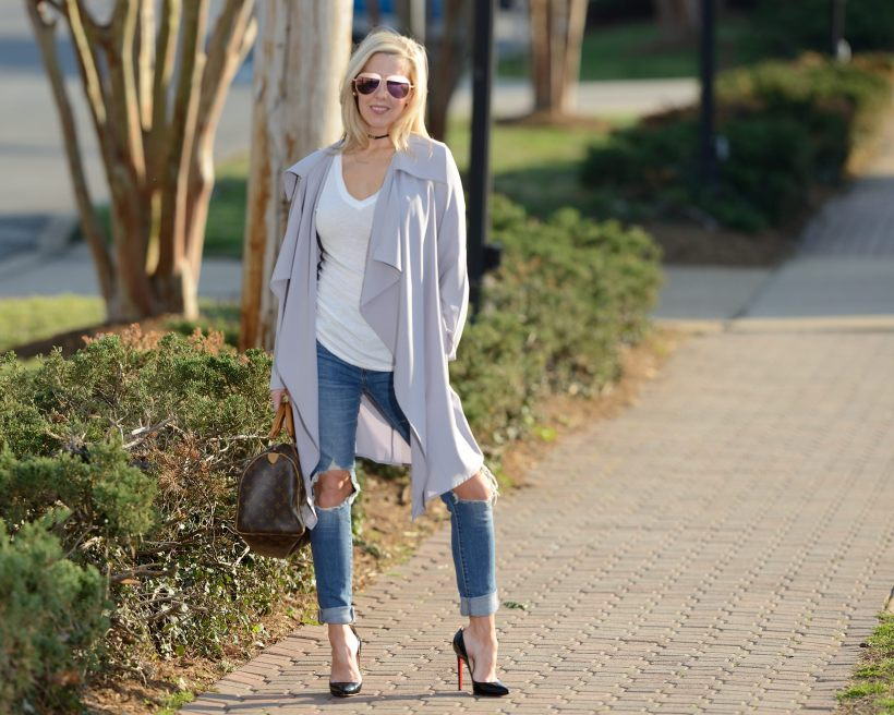 Make Me Chic Grey Duster