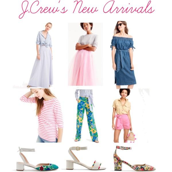 J.Crew New Arrivals Spring 2017