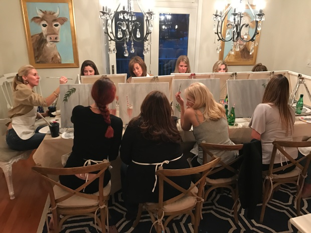 At Home Adult Painting Party