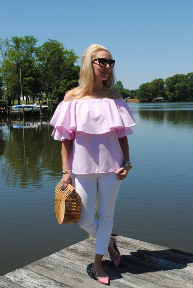 Pink Ruffles on Mother's Day