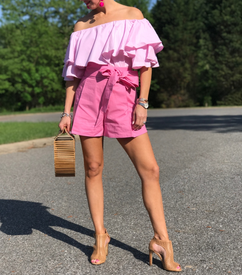 Pink Ruffles and a Pink Bow