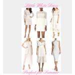Little White Dresses Perfect for Summer