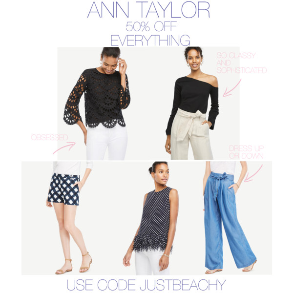 Ann Taylor 50% off Sale