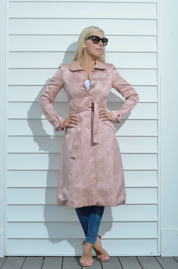 Current Boutique Pink Coat