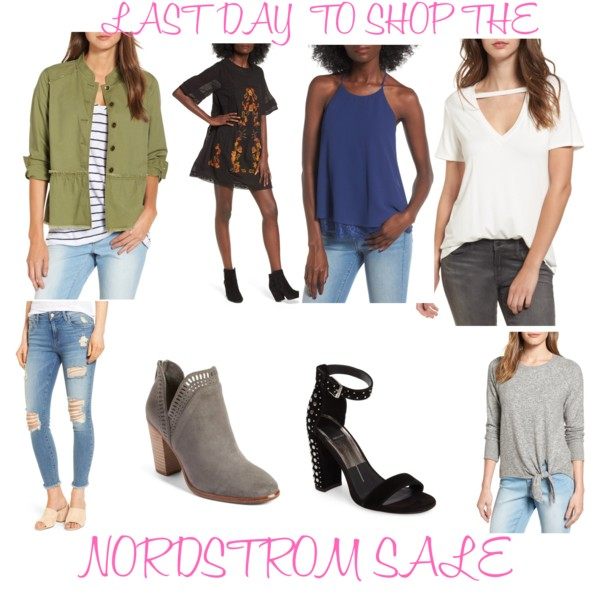 LAST DAY to shop the Nordstrom SALE