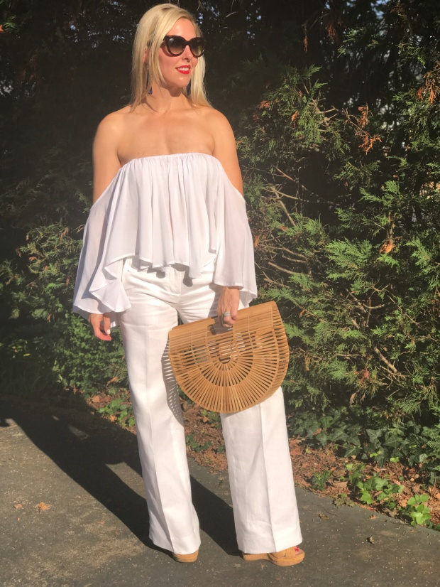 All White Outfit in August