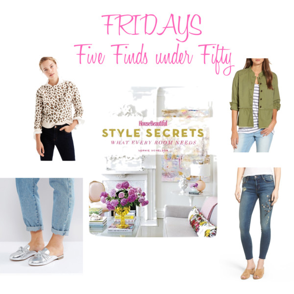 Five Friday Favorites Fifty and Less September 22 2017