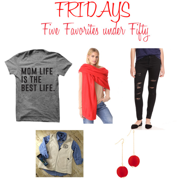 Five Friday Favorites Fifty and Less September 29 2017