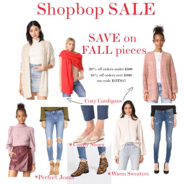 Shopbop SALE Fall 2017