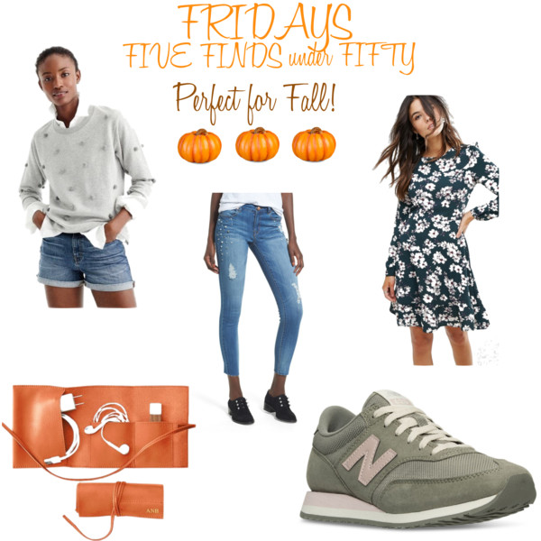 Five Friday Favorites Fifty and Less October 6 2017