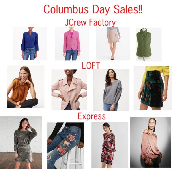 Columbus Day Sale 2017
