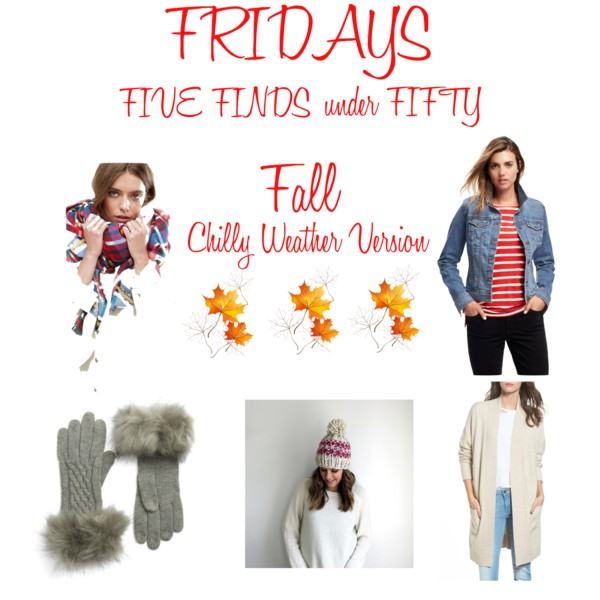 Five Friday Favorites Fifty and Less October 20 2017