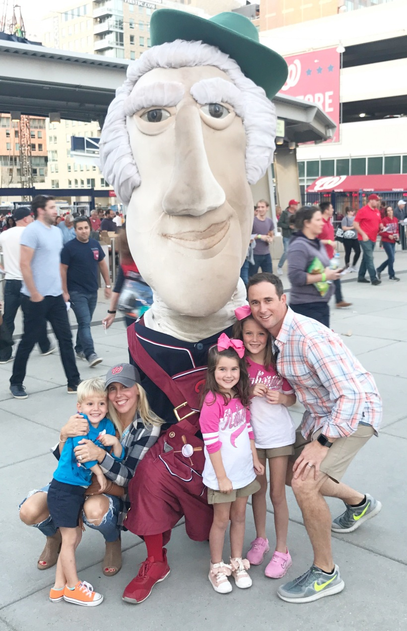 Nationals Game and the Holud